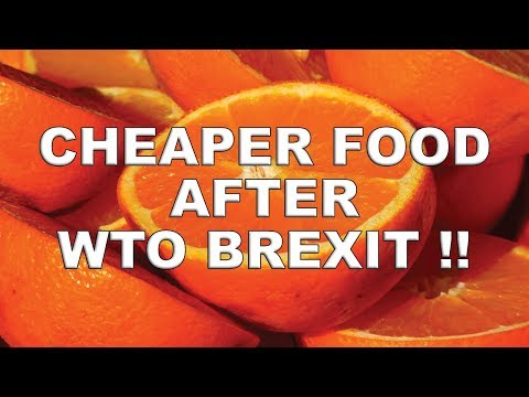 Cheaper food after no-deal Brexit!