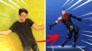IMITANDO DANÇAS DO FORTNITE NA VIDA REAL!!!
