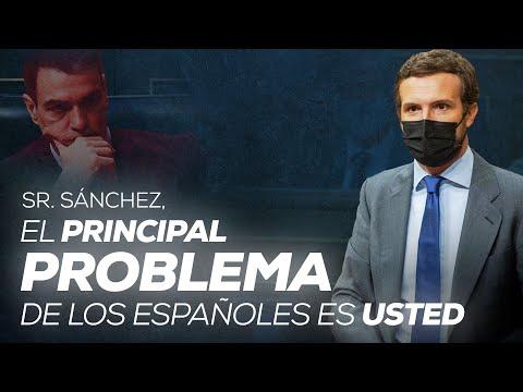 Sr. Sánchez, el principal problema de los españole...