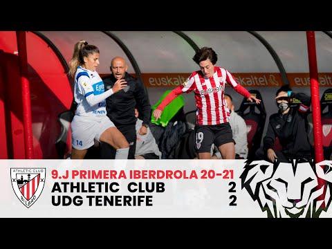 ⚽ RESUMEN I Athletic Club 2-2 UDG Tenerife I J9 Primera Iberdrola 2020-21