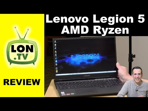 "External Review Video 62PM-ihmekc for Lenovo Legion 5 17"" Gaming Laptop w/ AMD (17ARH-05)"