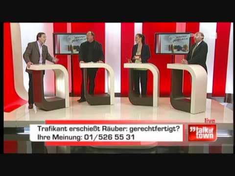 Part 2: Dr. Georg Zakrajsek zum Thema Waffengebrauch bei Puls4 am 05.01.2010