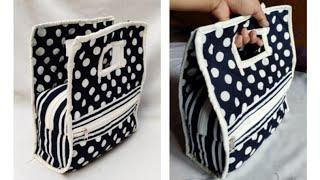 30 मिनट   में  बनाऐ Easy  Handmade / Bag Banane  Ka Tarika Ll Market Bag Ll  Bag Ll Bag Banana