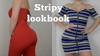 Stripy Lookbook - Ft Fashion Nova
