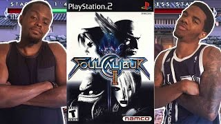 THE LONG STICK IS UNBEATABLE! - Soul Caliber 2 (PS2)   #ThrowbackThursday ft. Juice