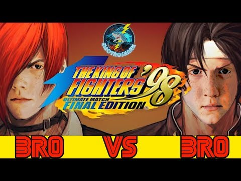 Sibling Rivalry 4 - Bro Vs Bro on King Of Fighters 98 Ultimate Match