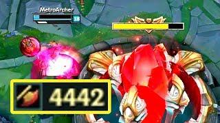 4442 AD JHIN! ATTACK DAMAGE RECORD!
