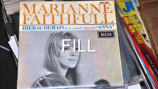 MARIANNE FAITHFULL   HIER OU DEMAIN   EP DECCA 457 139
