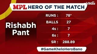 MPL Hero: Mumbai v Delhi