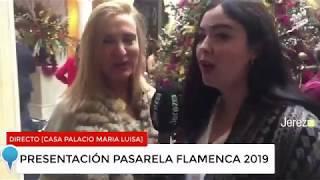 Entrevista Jerez TV en Pasarela Flamenca Jerez