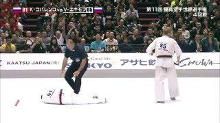 Все нокауты Владислава Екимова на 11-м абсолютном Чемпионате мира по киокушинкай