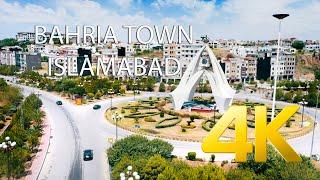 Bahria Town Islamabad Aerial View - 4K Ultra HD - Karachi Street View