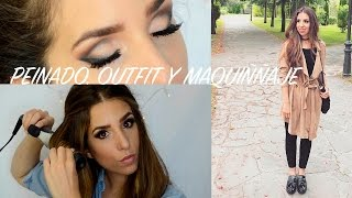 PEINADO* MAQUILLAJE*OUTFIT CASUAL/ MAMA JOVEN