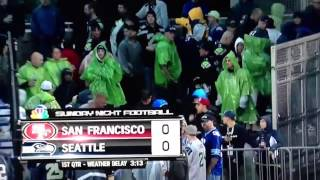 Rain Delays in the NFL ?