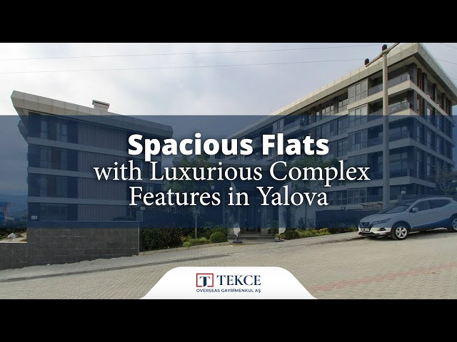 Spacious Flats with Luxurious Complex Features in Yalova