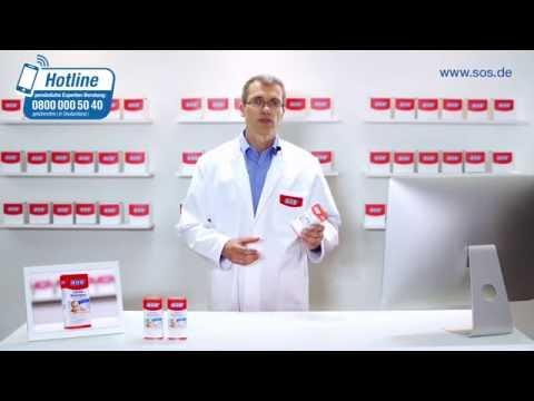 SOS Läuse-Shampoo zur zuverlässigen Beseitigung von Kopfläusen und Nissen