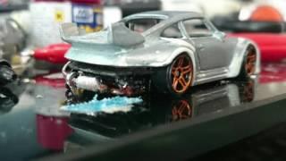 【改造ミニカー】Porsche RWB RedBull Edition ワンダー参加車両