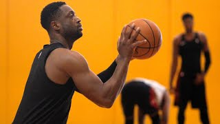 Miami Heat guard Dwayne Wade: ''I feel good physically''
