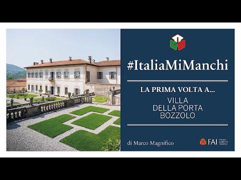 Marco Magnifico racconta la prima volta a Villa Della Porta Bozzolo