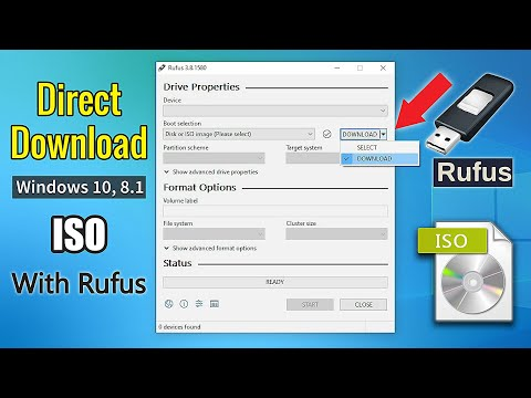 How to Download Windows 10 ISO With Rufus