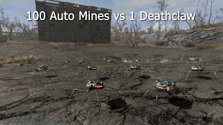 100 Automines vs 1 Deathclaw