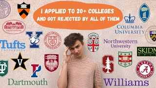 Watch Me Get Rejected From Every College (ivies, Stanford, Etc)