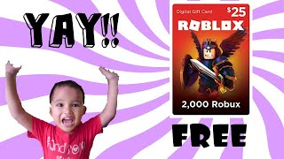 How To Get Free Roblox Gift Card