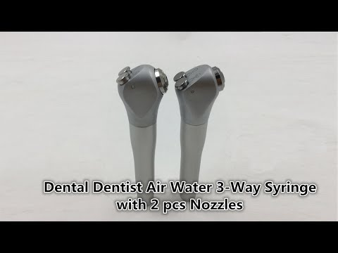 Dental Dentist Air Water 3-Way Syringe: two versions