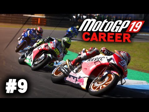 MotoGP 19 Career Mode Gameplay Part 9 - MOTO 3 FINALE! (MotoGP 2019 Game Career Mode PS4 / PC)