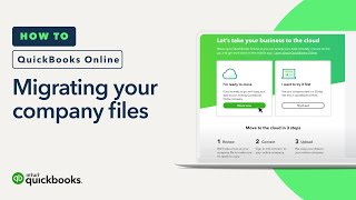 How To Export Your QuickBooks Desktop Company File and Import to QuickBooks Online
