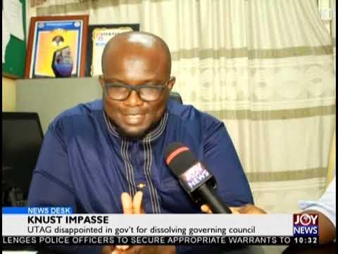 KNUST Impasse - News Desk on JoyNews (26-10-18)