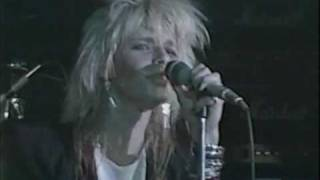 """Hanoi Rocks, HANOI ROCKS """"Don't Never Leave Me"""" Live at The Marquee 1983"""