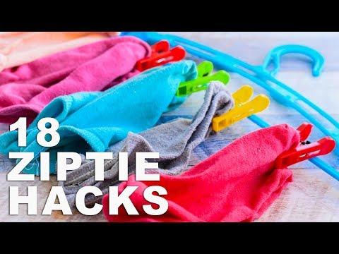 18 ZIP TIE HACKS