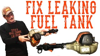 How To Fix A Cracked Plastic Gas Tank   Video