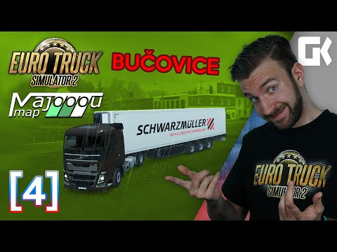 BUČOVICE ANEB NOVÁ VERZE 2.0! | Euro Truck Simulator 2 MajooouMap #04