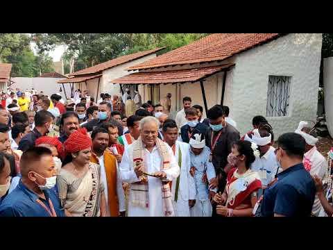 मुख्यमंत्री श्री बघेल बस्तर दशहरा में शामिल होने दो दिवसीय प्रवास पर जगदलपुर पहुंचे हुए हैं :  17-10-2021