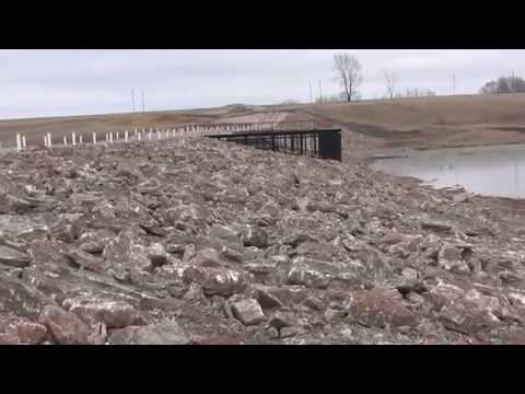 В Аургазинском районе завершился капитальный ремонт гидротехнического сооружения на реке Турсугалка у с.Шланлы