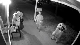 This Mom Gets Caught on Camera Taking All The Halloween Candy