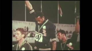 Tommie Smith At The 1968 Olympic Games In Mexico City