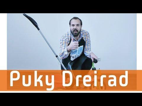Puky Dreirad Montage und Tipps