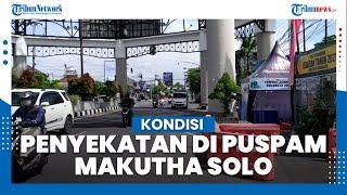 Kondisi Penyekatan di Pospam Makutha Solo, Pelat Luar AD Siap-siap Dicegat