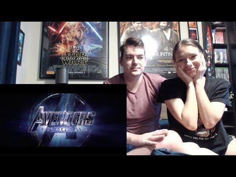 Marvel Studios' Avengers: Endgame - Official Trailer #2 Reaction!!! (видео)