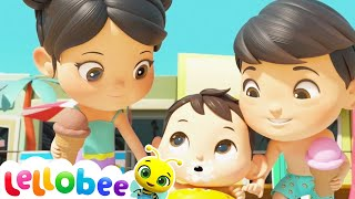 I Love My Family Song | Brand New | Nursery Rhymes for Babies | ABCs and 123s | Little Baby Bum