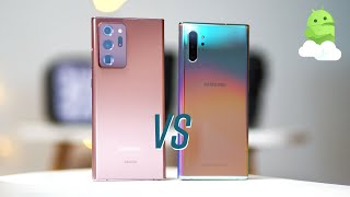 Samsung Galaxy Note20 Ultra vs Samsung Note10 Plus - First Look!