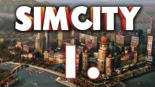 preview picture of video 'Let's Play CZ ║ SimCity ║ 1. Část ║ Merry'