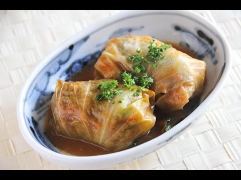 Cabbage Roll Recipe Japanese Cooking 101