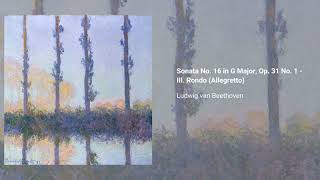 Piano Sonata no. 16 in G major, Op. 31 no. 1