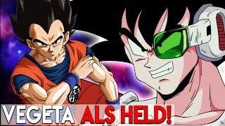 Vegeta in der Rolle von 'Son Goku' - DRAGON BALL SAI Geschichte