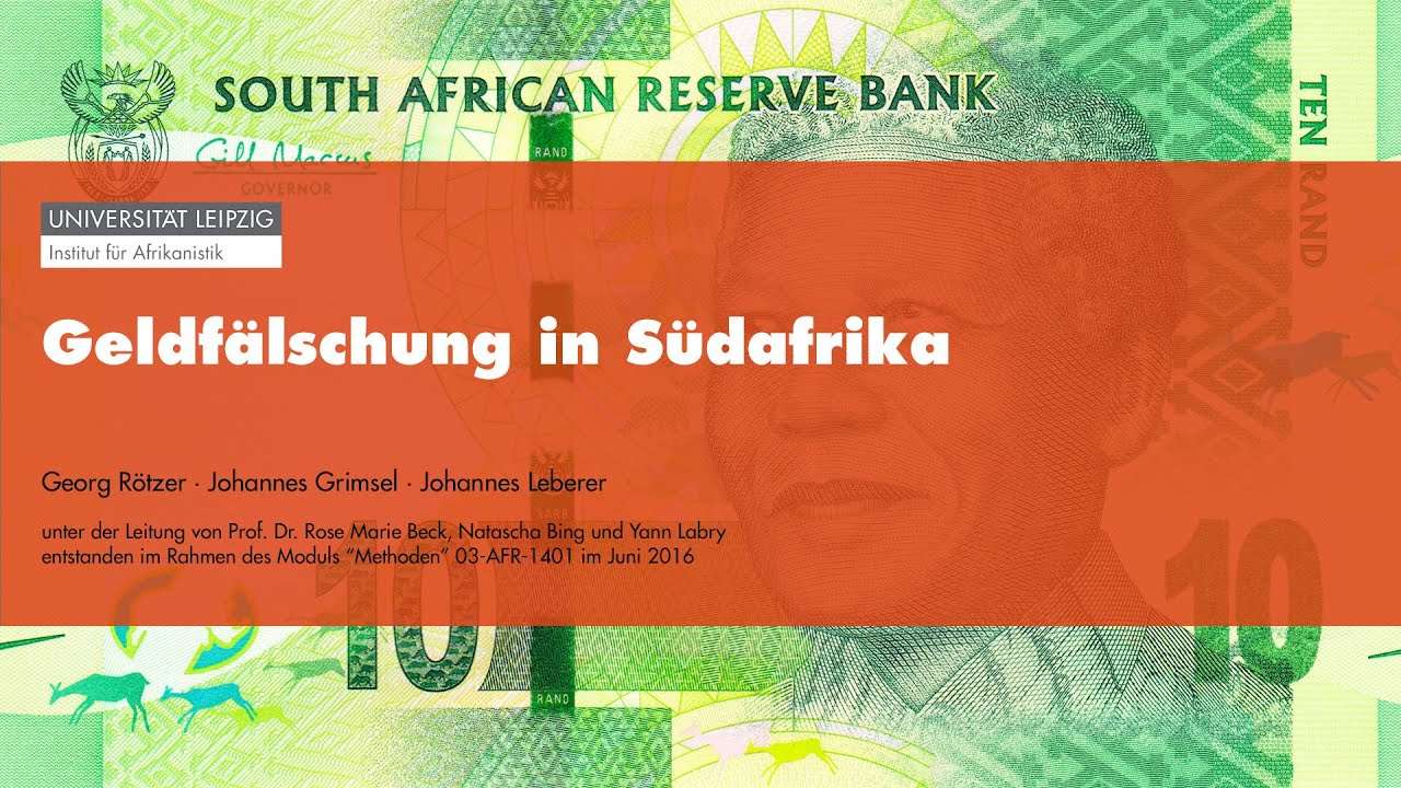 Money Talks - Geldfälschung in Südafrika