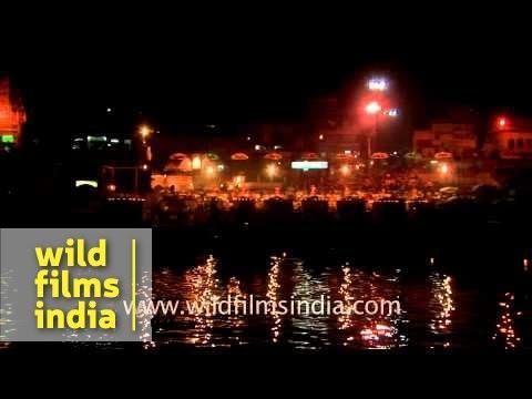 Maha aarti of river Ganga - Varanasi